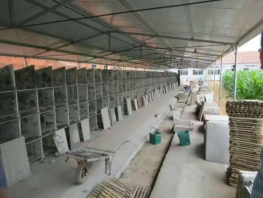 章丘瓷砖兔笼案例