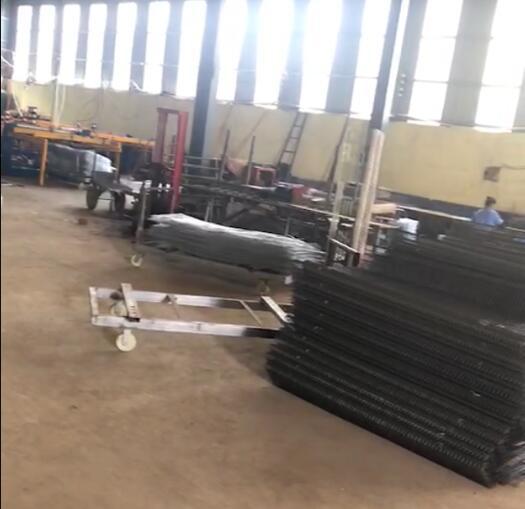 笼体焊接车间